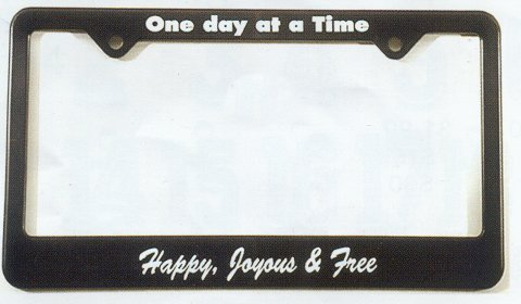 License Frame - ODAAT: HJ & F - Easy Does It Books & Gifts