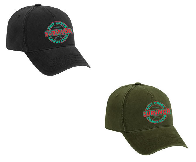 ede8f5b0a Hat - Survivor: Shit Creek Canoe Club (Black or Green) - Easy Does ...